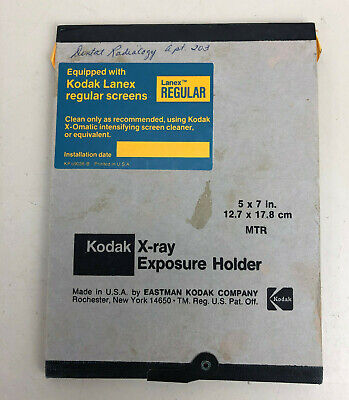 Kodak Lanex Dental X-ray Holder --- 5 X 7 Inch Lanex Regular