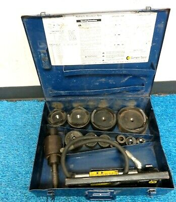 Current Tool 154pm Hydraulic Knockout Punch And Die Set 12-4 Inch