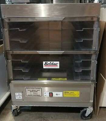 Belshaw Tz6 6-shelf Proofing Cabinet Holds 12 Dozen Donuts