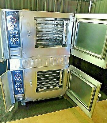 Alto Shaam Stacked Natural Gas Convection Combi Steamer Oven