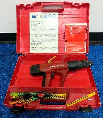 Hilti Dx A40 Powder Actuated Concrete Gun Wcase
