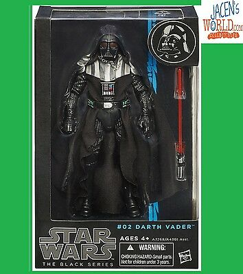 DARTH VADER Black Series 6 inch #02 Star Wars Action Figure Wave 5