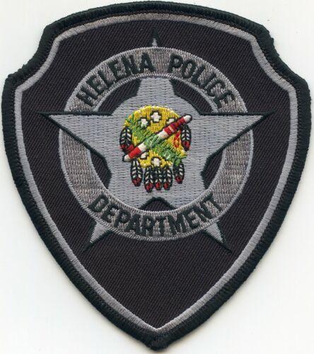HELENA OKLAHOMA OK POLICE PATCH