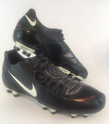 3b2d9b0f5 Nike Total 90 Soccer Cleats Black 316246-001 2007 Size 7.5 Mens A+ Condition