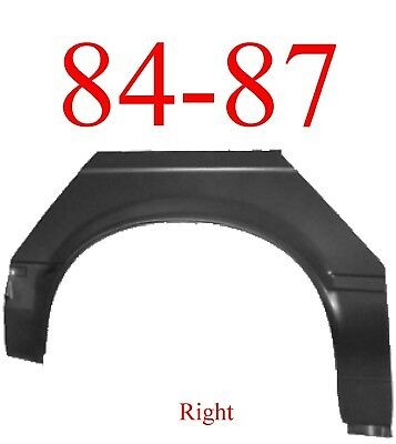 84 87 BMW 3 Series Right Upper Wheel Arch & Dog Leg, 2 Door