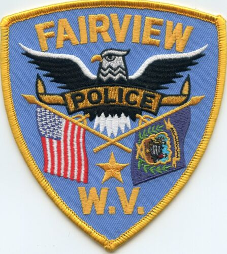 FAIRVIEW WEST VIRGINIA WV POLICE PATCH