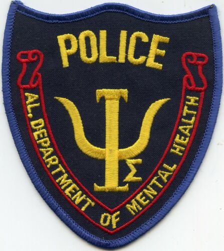 ALABAMA AL STATE DEPARTMENT OF MENTAL HEALTH POLICE PATCH