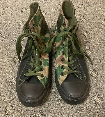 WOMENS CAMO CONVERSE HIGH TOP PERSONALIZED