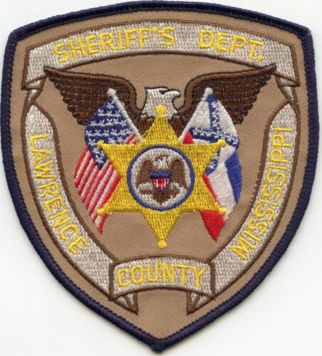 LAWRENCE COUNTY MISSISSIPPI MS SHERIFF POLICE PATCH