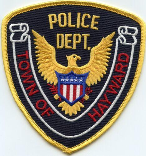 HAYWARD WISCONSIN WI POLICE PATCH