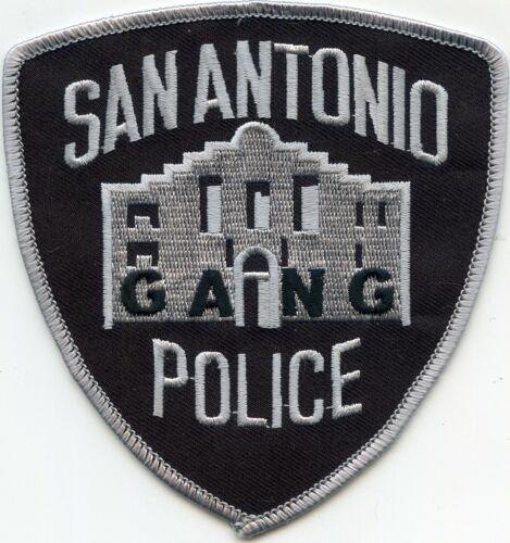 SAN ANTONIO TEXAS TX GANG UNIT POLICE PATCH