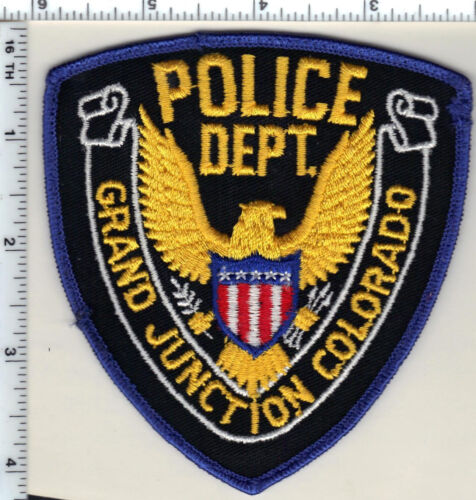 Grand Junction Police (Colorado) Shoulder Patch - new from 1989