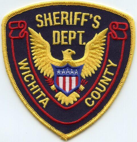 WICHITA COUNTY KANSAS KS SHERIFF POLICE PATCH