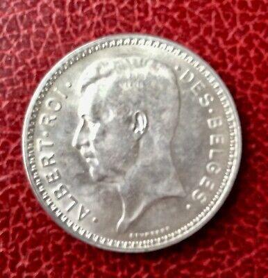 Belgique - Albert Ier  -  Superbe  monnaie en Argent  de 20 Francs 1934  Fr
