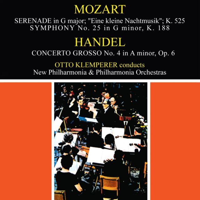 Mozart - Eine Kleine Nachtmusik / Handel - Concerto Grosso - Klemperer CD