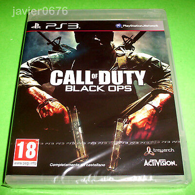 CALL OF DUTY BLACK OPS NUEVO Y PRECINTADO PAL ESPAÑA PLAYSTATION 3...