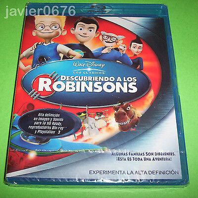 DESCUBRIENDO A LOS ROBINSONS CLASICO DISNEY 49 BLU-RAY NUEVO Y PRECINTADO