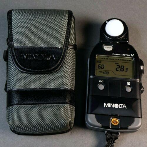 Minolta Flash Meter V, Excellent Condition! w/ Case!