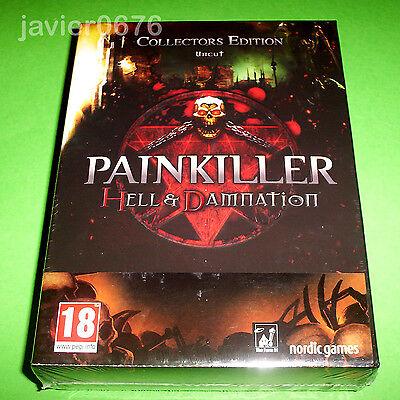 PAINKILLER HELL & DAMNATION EDICION COLECCIONISTA NUEVO PRECINTADO PAL ESPAÑA PC