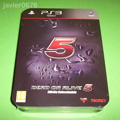 DEAD OR ALIVE 5 COLECCIONISTA NUEVO Y PRECINTADO PAL ESPAÑA PLAYSTATION 3...