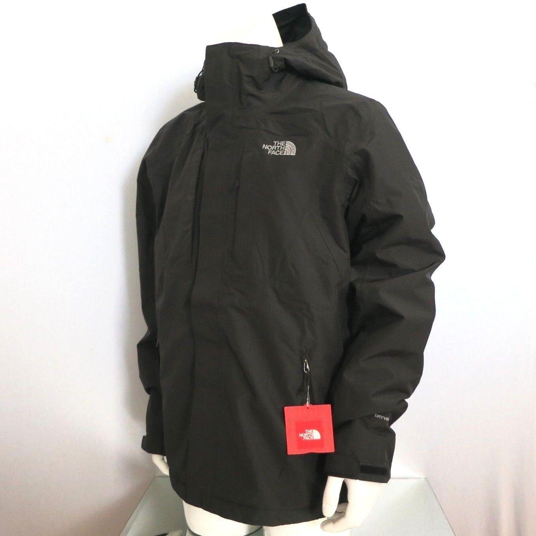 9d2e16fd5 THE NORTH FACE Men's Cinder Triclimate 3-IN-1 Ski Jacket Black sz S M L