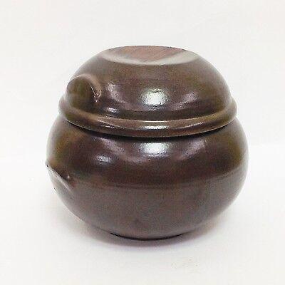 1 Liter Pottery Porcelain Jar Pot for Food fermentation Onggi Korean Ceramic