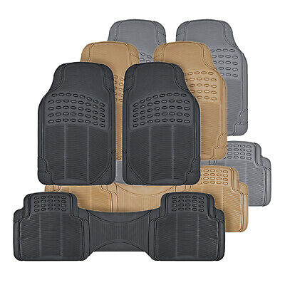 All Weather Car Truck Suv (Rubber Car Floor Mats Odorless All Weather Protection Auto Truck SUV 3 Colors )
