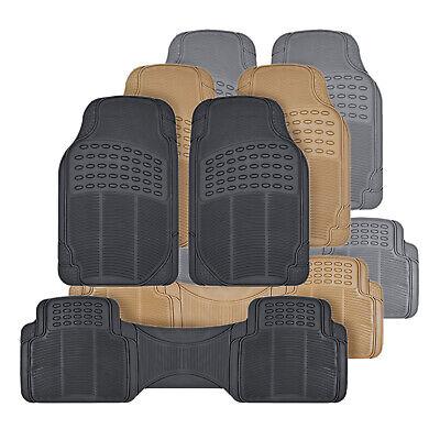 Rubber Car Floor Mats Odorless All Weather Protection Auto Truck SUV 3 - Auto Truck Car Floor Mats