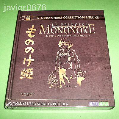 LA PRINCESA MONONOKE STUDIO GHIBLI COLLECTION DELUXE BLU-RAY + DVD + LIBRO
