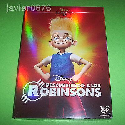DESCUBRIENDO A LOS ROBINSONS CLASICO DISNEY 49 - DVD NUEVO PRECINTADO SLIPCOVER