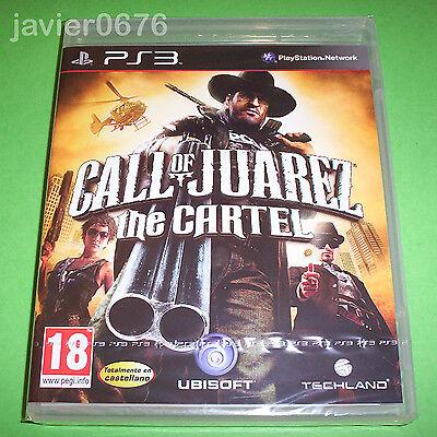 CALL OF JUAREZ THE CARTEL NUEVO Y PRECINTADO PAL ESPAÑA PLAYSTATION 3...