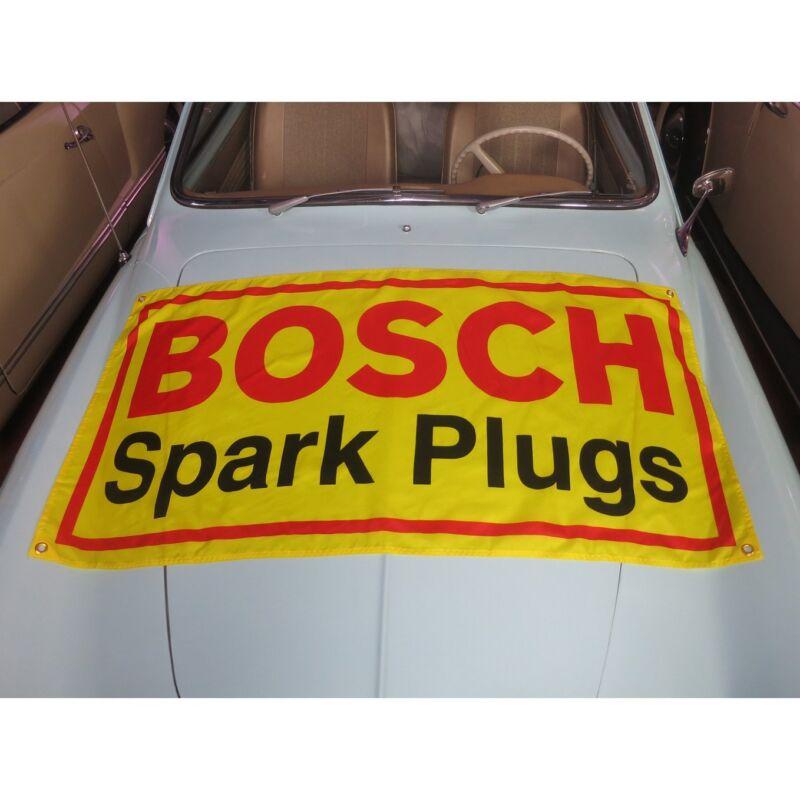 BOSCH Flag Banner Sign garage vw bmw m3 okrasa 356 samba split kafer 2002 ghia