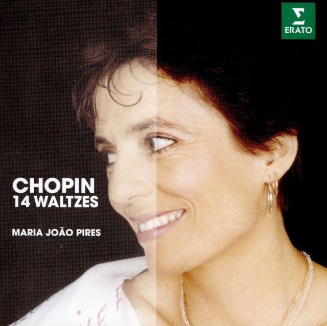 MARIA JOAO PIRES - 14 WALZER THE ERATO STORY  CD NEU CHOPIN,FREDERIC