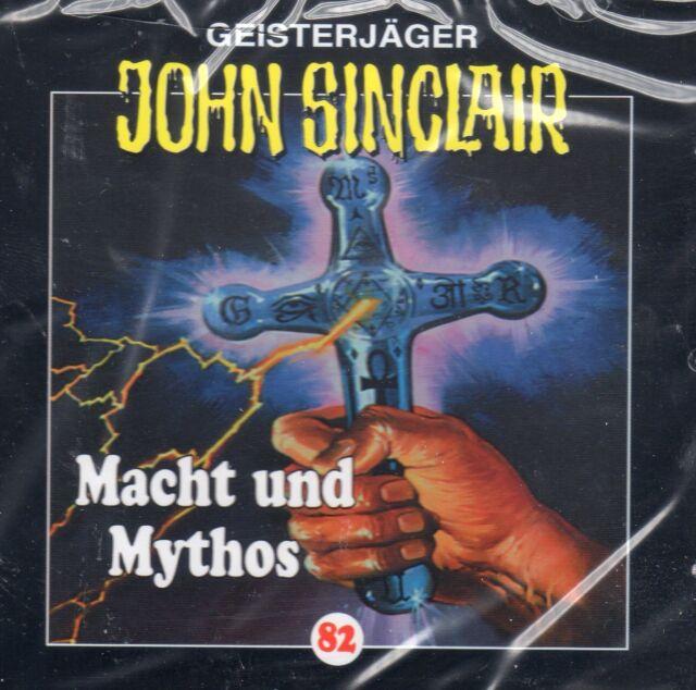 JOHN SINCLAIR - Teil 82 - Macht und Mythos - AUDIO CD - NEU OVP