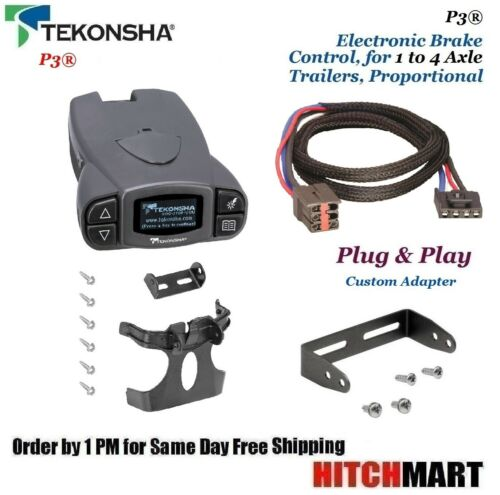 P3 TRAILER BRAKE CONTROL & ADAPTER FOR FORD, LINCOLN, LAND ROVER, MERCURY 90195