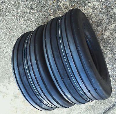 2 13x5.00-6 Front Rib Cub Cadet Easy Steer Tires Mower