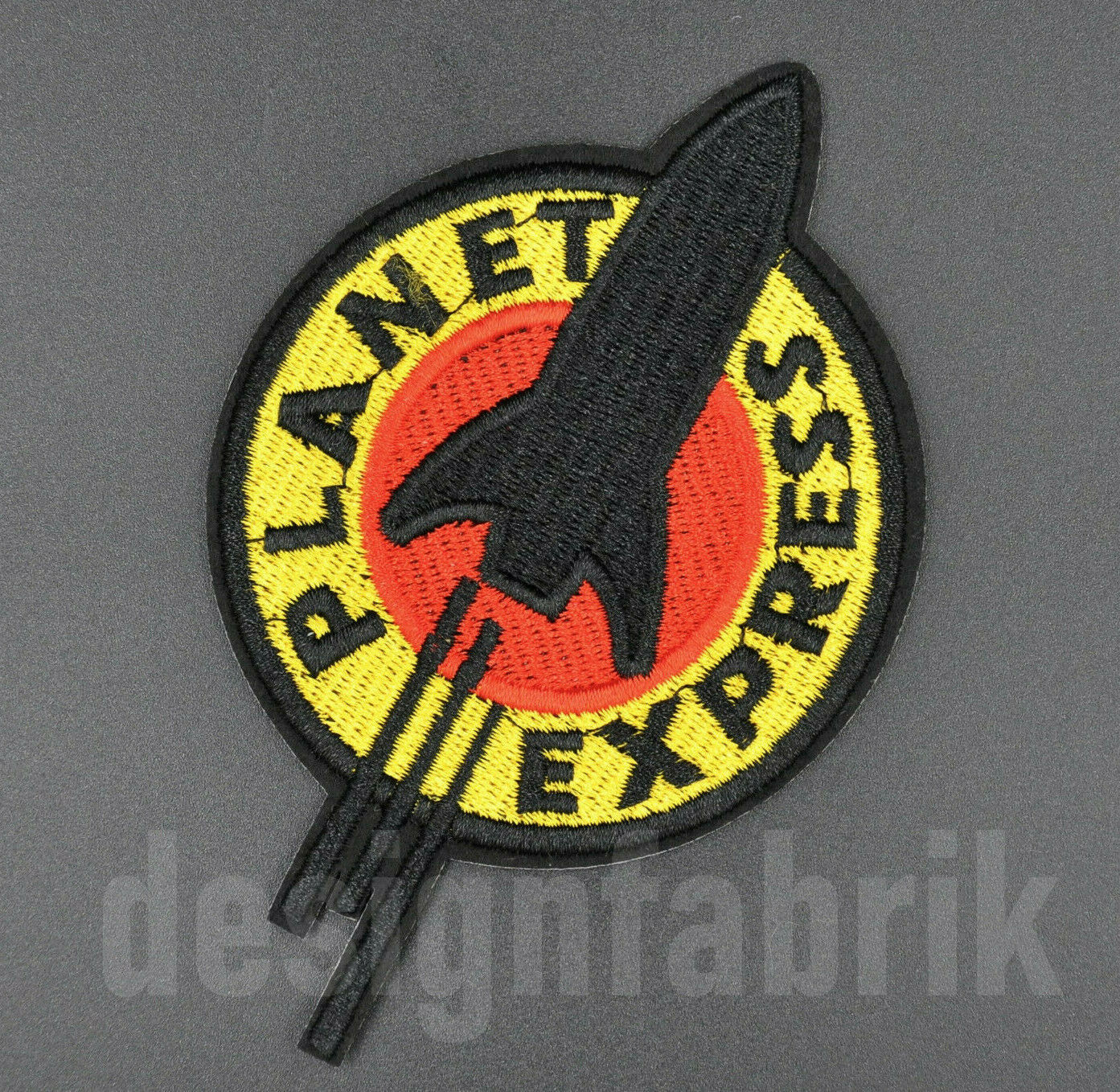 PATCH Planet Express RAKETE Astronaut AUFBÜGELN Bügel Bild Aufnäher Applikation