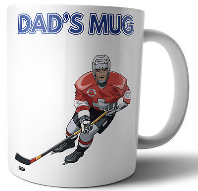 Father's Day or Birthday Card / Gift - Ice Hockey Themed - For Dad  - Hockey Themed Gifts