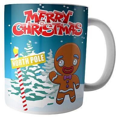 Lebkuchenmann Weihnachten Becher Heiße Schokolade - Strumpf Füller - Elf