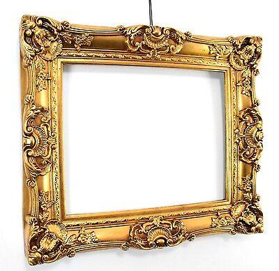 Barock Bilderrahmen 50 x 60 cm / 75x85 cm Gold Rokoko Barockrahmen Jugendstil