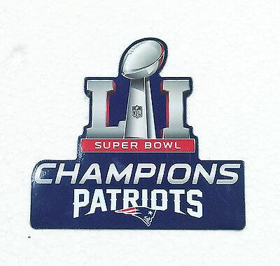 Official Wincraft NEW ENGLAND PATRIOTS Magnet Superbowl LI 51 2017 NFL Fridge