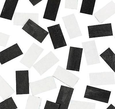 72 Self-adhesive Rectangle Strip Magnets Craft School 1 14 X 34