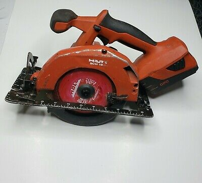 Hilti Scw 18-a Cordless Circular Saw With 1 Battery Free Shipping
