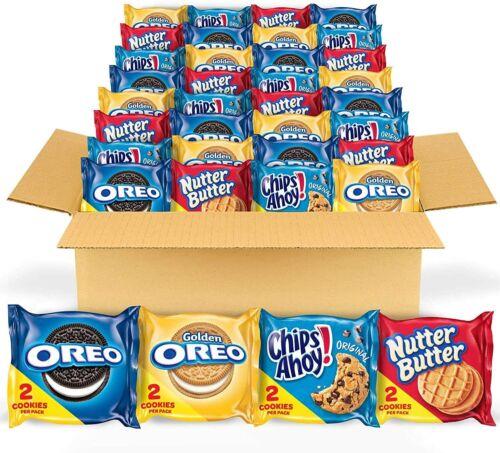 Original Oreo Golden Chips AHOY Golden Nutter Butter Variety Packs US Stock 56 X