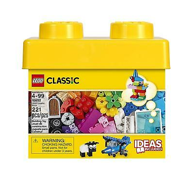 LEGO Classic Creative Brick Box 10692 Building Blocks Learning Toy - 221 Pieces