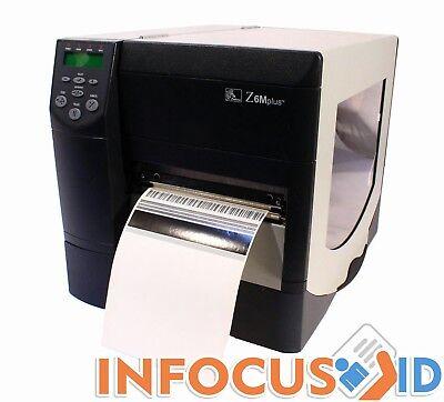 Zebra Z6m Plus 200dpi Z6m00-200e-0000 Impresora de Etiquetas & Soporte Técnico segunda mano  Embacar hacia Mexico