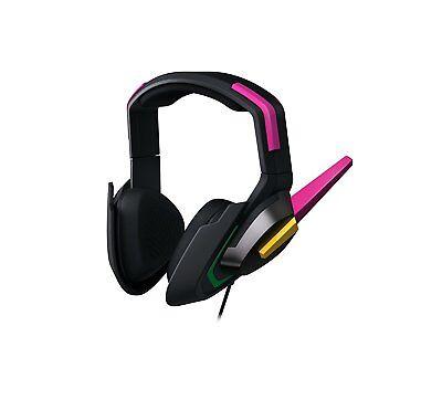 Razer Overwatch D.Va Meka Analog Gaming Headset for PC,XBOX,PS4 RZ04-02400100-B