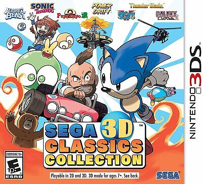 SEGA 3D Classics Collection - Nintendo 3DS - Brand New - Sealed