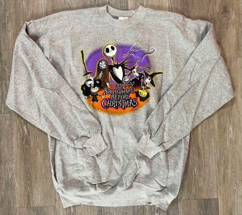 Disney Store The Nightmare Before Christmas Sweatshirt NEW NWT Vintage Size XL