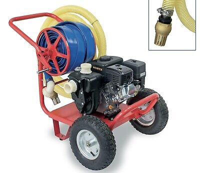 Power Pump 4T Benz With Kit Transfer WORTEX Lwg 2-T Engine Loncin 6,5HP+Trolley